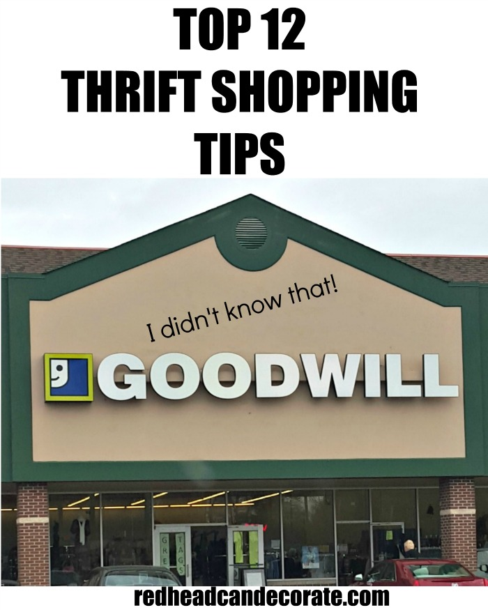 Best Goodwill Tips