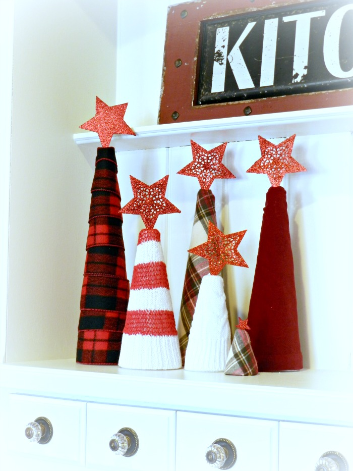 Flannel & Sweater Tree Tutorial