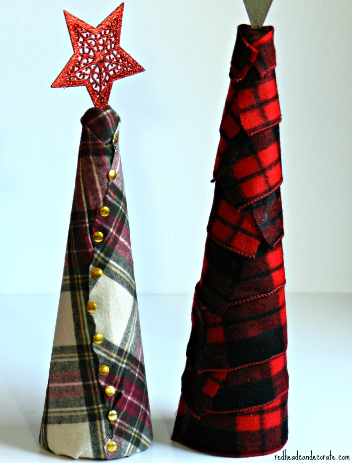 Flannel Tree Tutorial