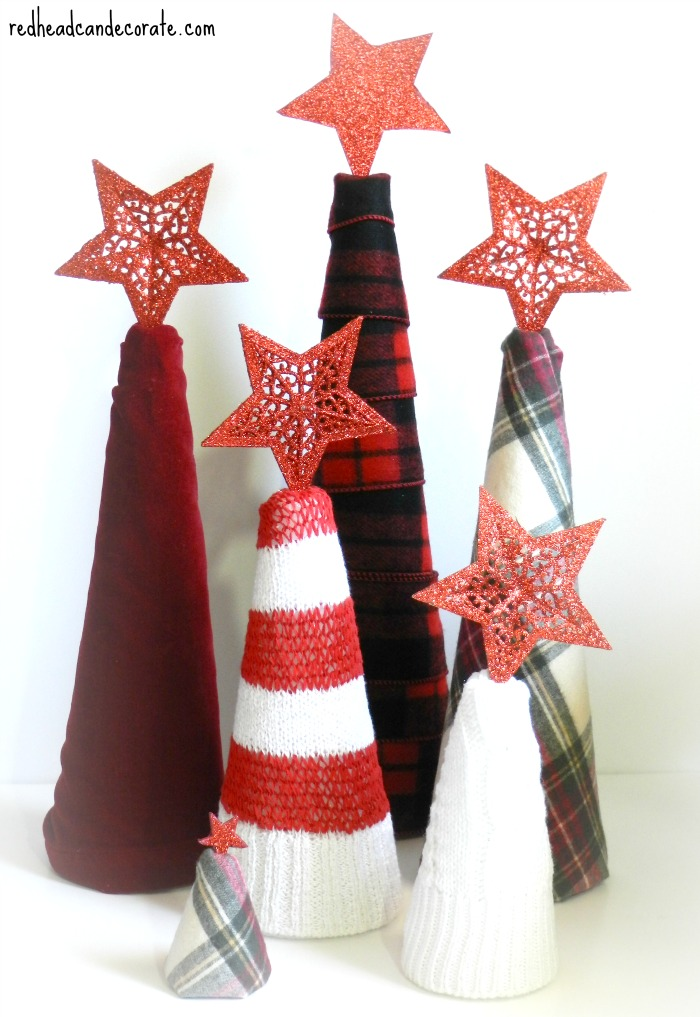Thrift Store FloraCraft Foam Christmas Trees