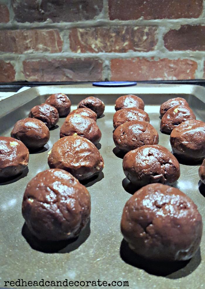 Chocolate Meatballs (Grandma's)