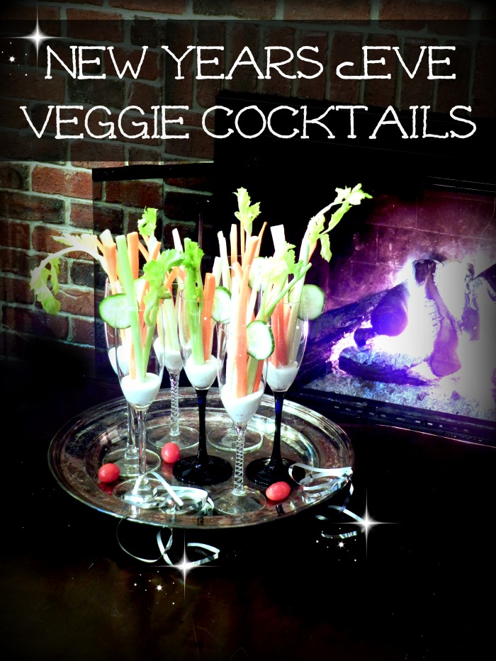 New Years Eve Veggie Cocktail