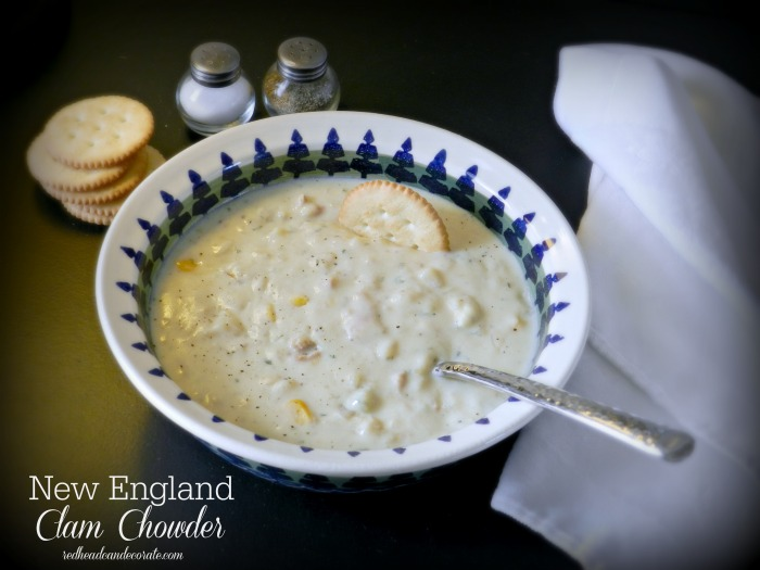 Easy Clam Chowder
