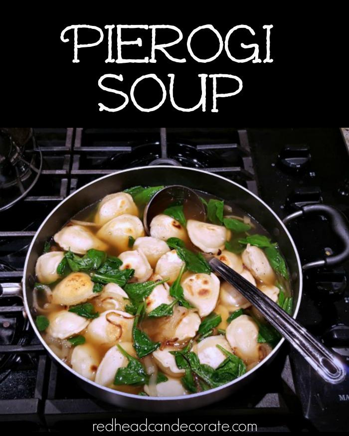 Pierogi Soup Recipe
