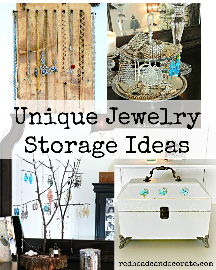 Unique Jewelry Storage Ideas