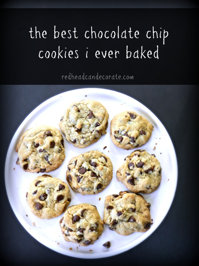 Best Chocolate Chip Cookies I ever baked!