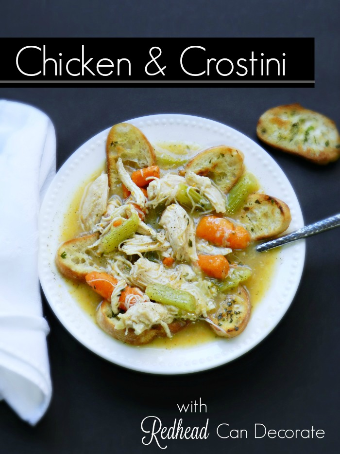 Chicken & Crostini