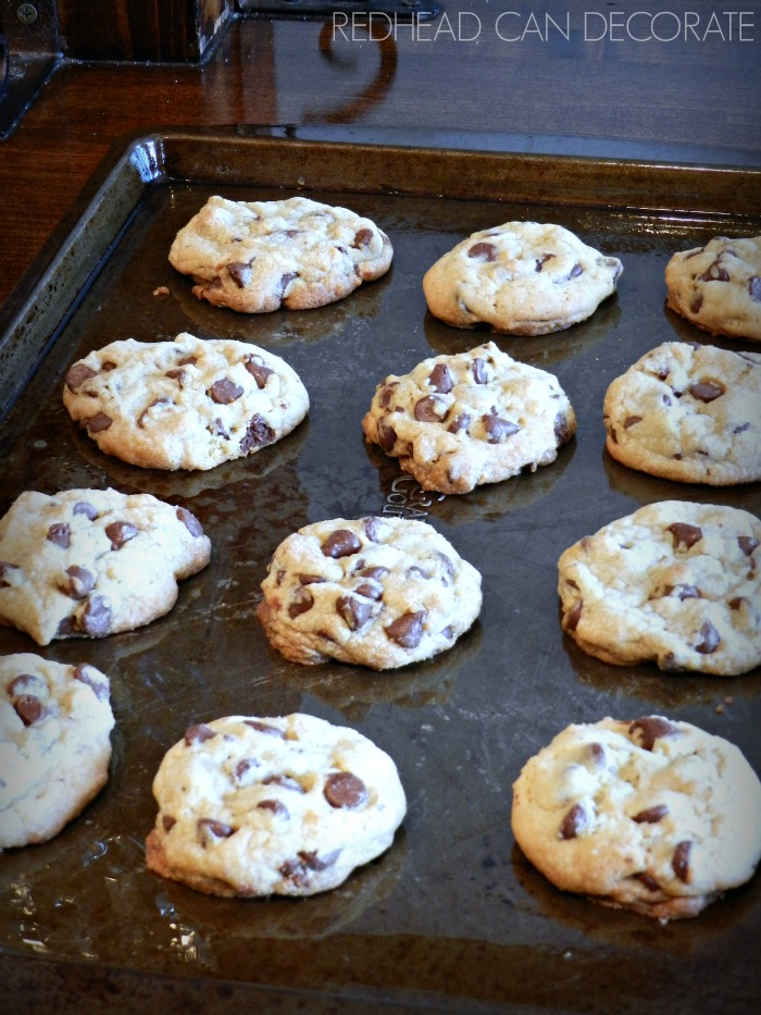 Protein packed chocolate chip cookies.