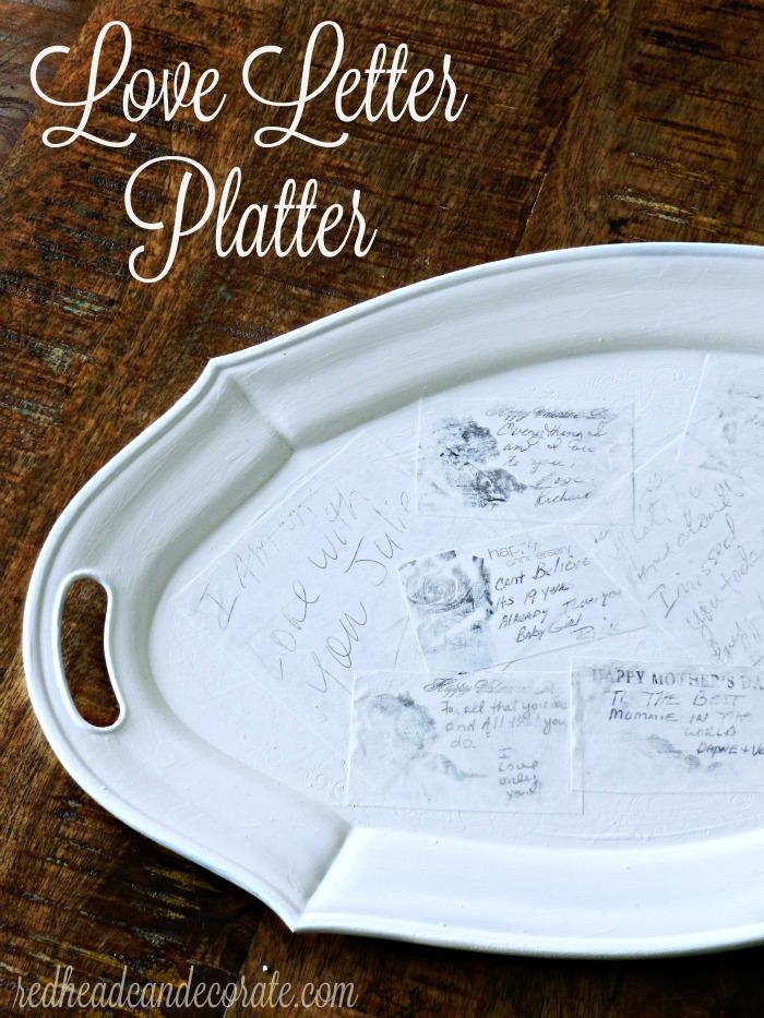 Silver Platter Makeover