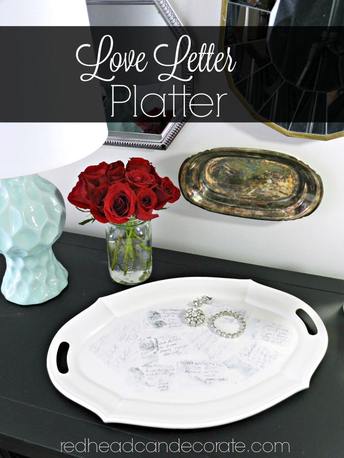 Love Letter Platter