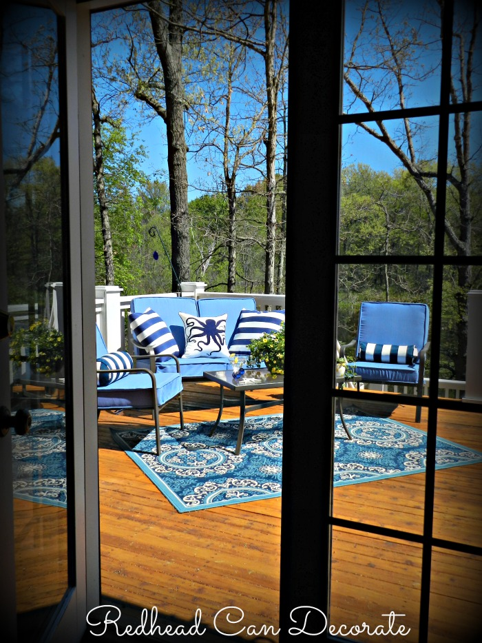 Welcome to our Summer deck...