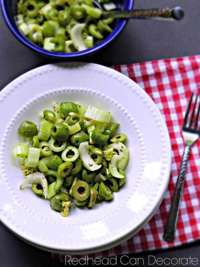 Olive & Celery Salad YUM