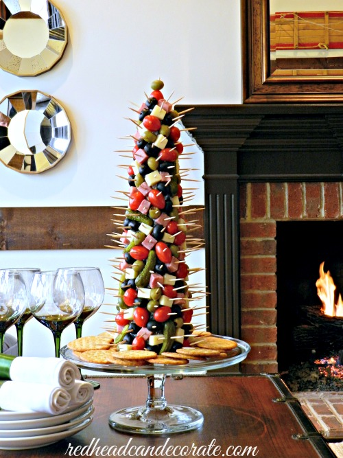 Party Appetizer Tree by Redhead Can Decorate