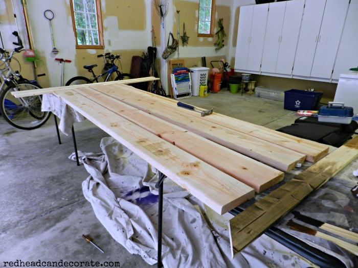 wood for shutters