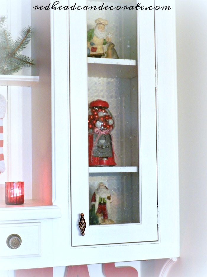 Christmas Gumball Machine - Redhead Can Decorate