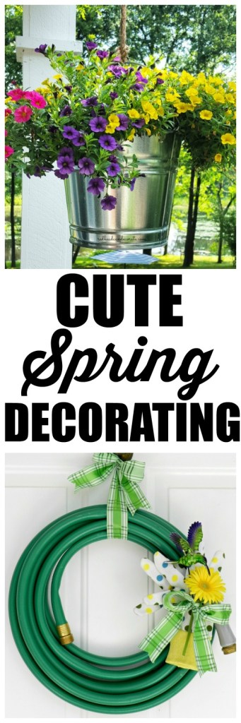 This website has the cutest ideas for Spring. They sound easy, too!