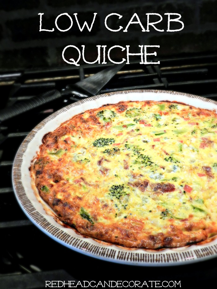 This low carb quiche is just one of 8 amazing brunch recipes that are perfect for Easter, Mother's Day or any day.