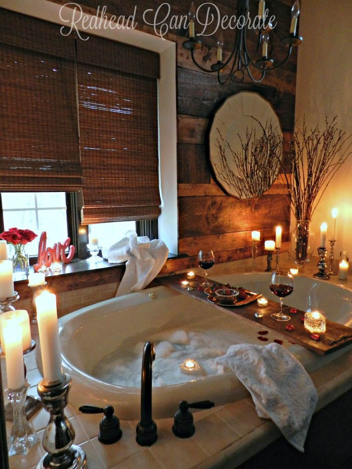 Gorgeous Bathroom Date Idea!