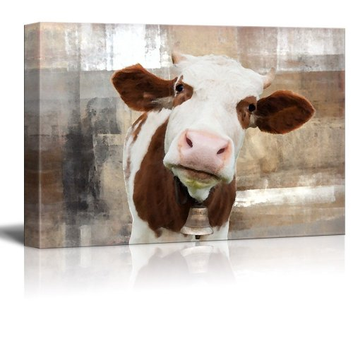 Cow canvases are the cutest way to add some farmhouse to your home. This Cow Canvas Giveaway is free!