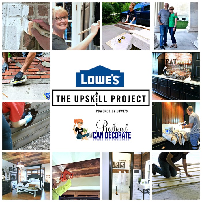 Win $2K Lowe's Gift Card in The UpSkill Project Contest