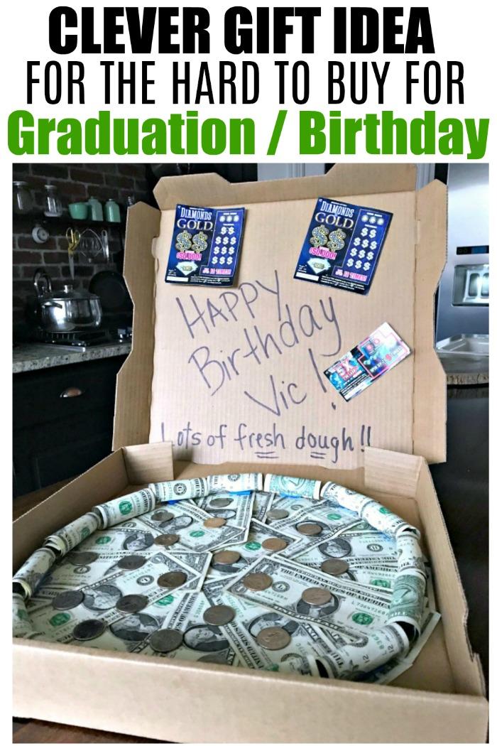 Birthday Money Pin : birthday, money, Money, Pizza, Redhead, Decorate