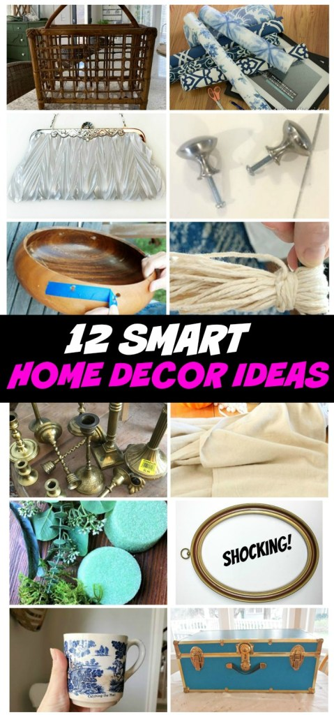 12 smart and thrifty ways to decorate your home!