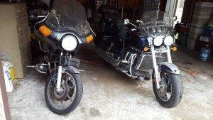 KZ1000 and Triumph rocket 3