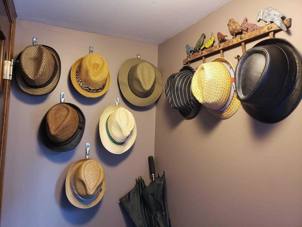 Fedora hats n hooks