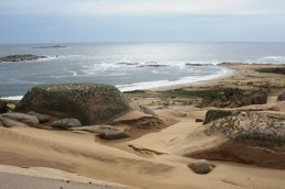 """The far right point is known as """"punta del diablo"""" or the devil's point because the aerial view looks like the devil's trident."""