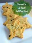 Parmesan & Basil Holiday Stars Recipe