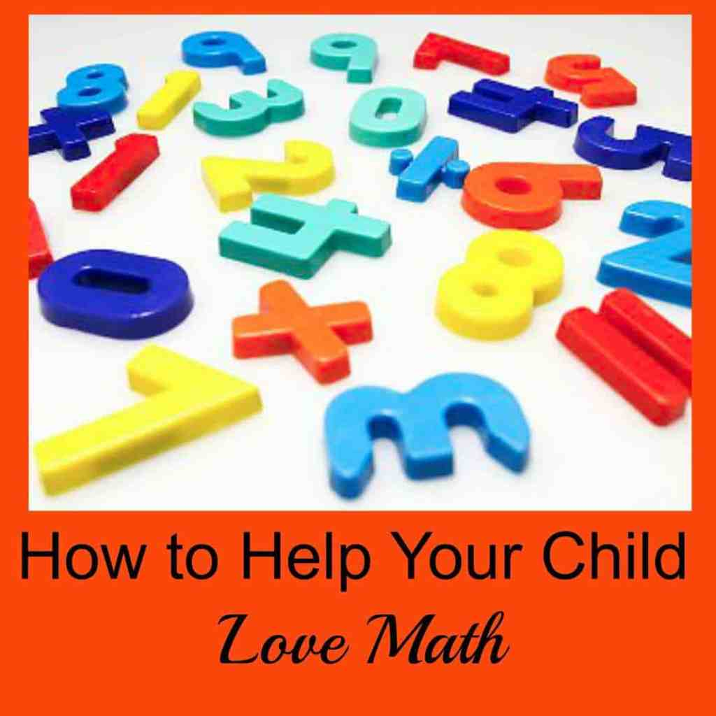 how to help your child love math