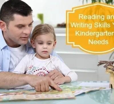 Reading and Writing Skills Your Kindergartener Needs