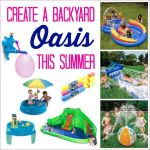 Create a kids backyard oasis this summer
