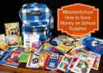 How to Save Money on School Supplies #BacktoSchool