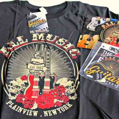 The Perfect Gift For Guitar Lovers – Guitar Shop Tees #Review @GuitarShopTees