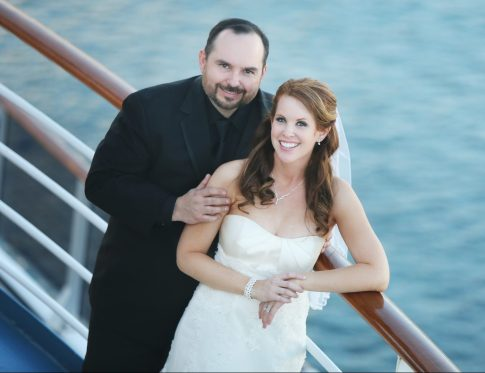 Frank and Shannon Gurnee Wedding Carnival Cruise About Us