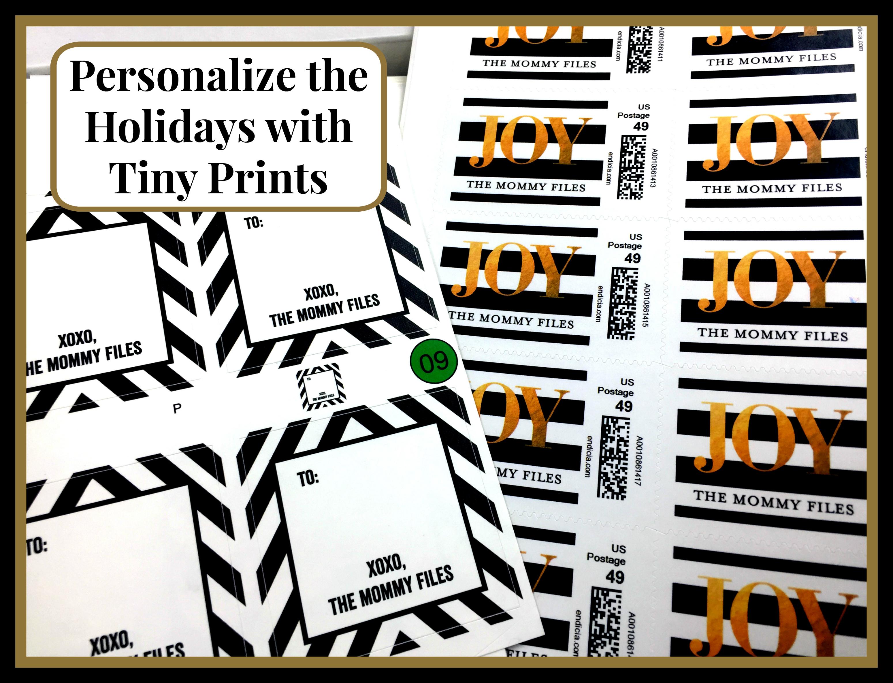 #TinyPrints #Holidays #ad