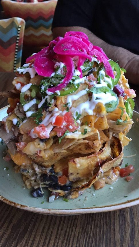 #GuyFieris #food #foodie #trashcannachos #nachos #travel #blogger