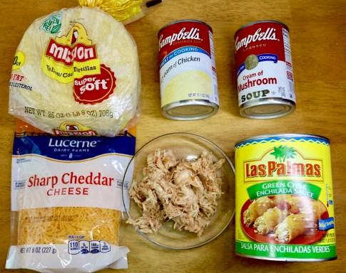 Green Chile Chicken Enchiladas Recipe #Enchiladas #Chicken #Recipe #familyfood #food