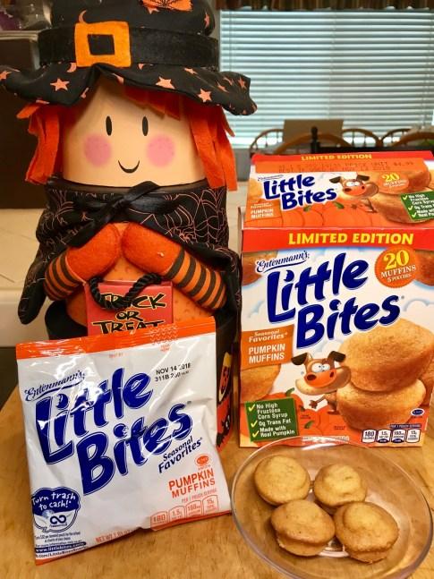 Little Bites Pumpkin #LittleBites #Entenmanns #LoveLittleBites #LittleBitesPumpkin #food #foodie #giveaway #ad