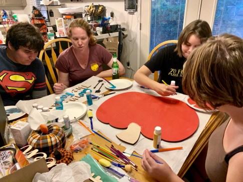 Craft Cuts #Halloween #art #artproject #artprojects #diy #pumpkin #art #family #ad