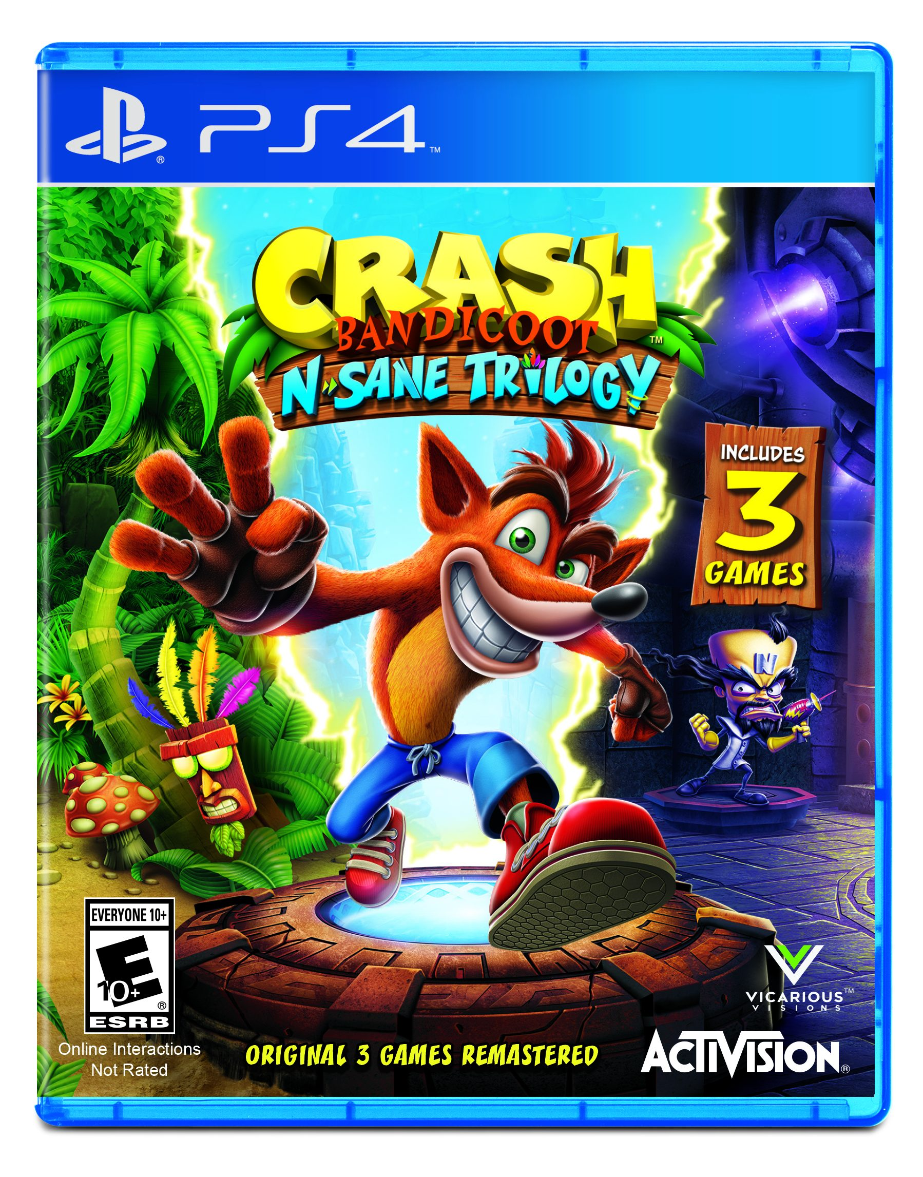 Activision Crash Bandicoot Video Games #activision #videogames #technology #tech #holidaygiftguide #ad