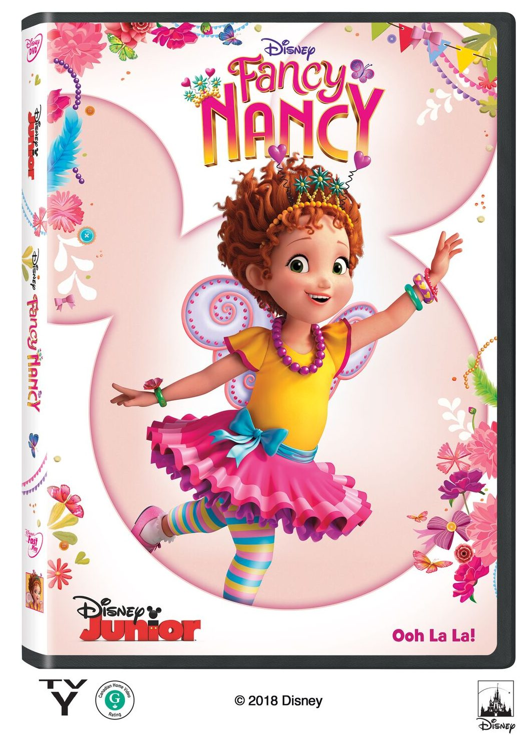 Fancy Nancy DVD #FancyNancy #DVD #giveaway #ad