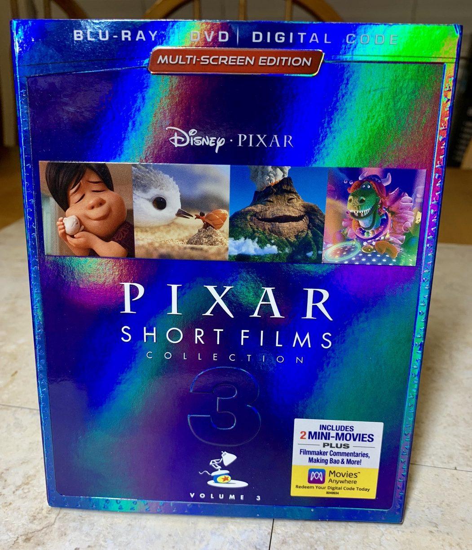 Pixar Short Films Collection: Volume 3 #Pixar #Animation #Disney #ad