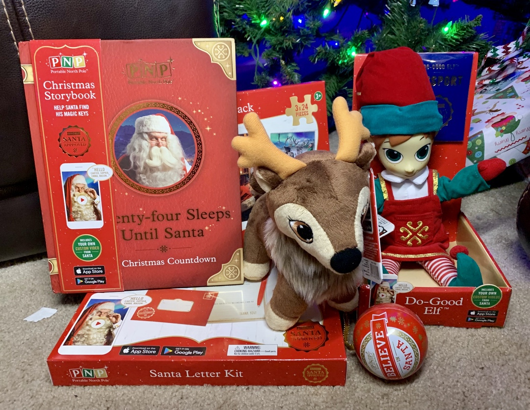 8747024b2da3e Make Christmas Magical with Portable North Pole - Redhead Mom