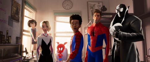 Crew on Spider-Man: Into the Spider-Verse