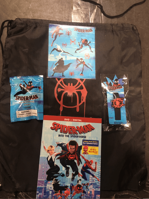 SPIDER-MAN: INTO THE SPIDER-VERSE DVD Activity Kit Giveaway