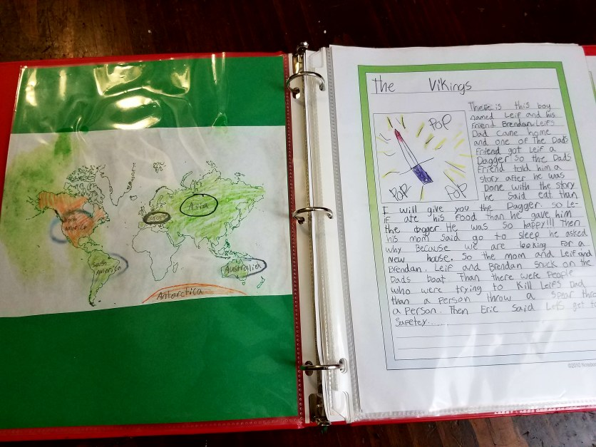 read-alouds and notebooking