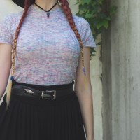Summer Outfit: Black and Unicorn