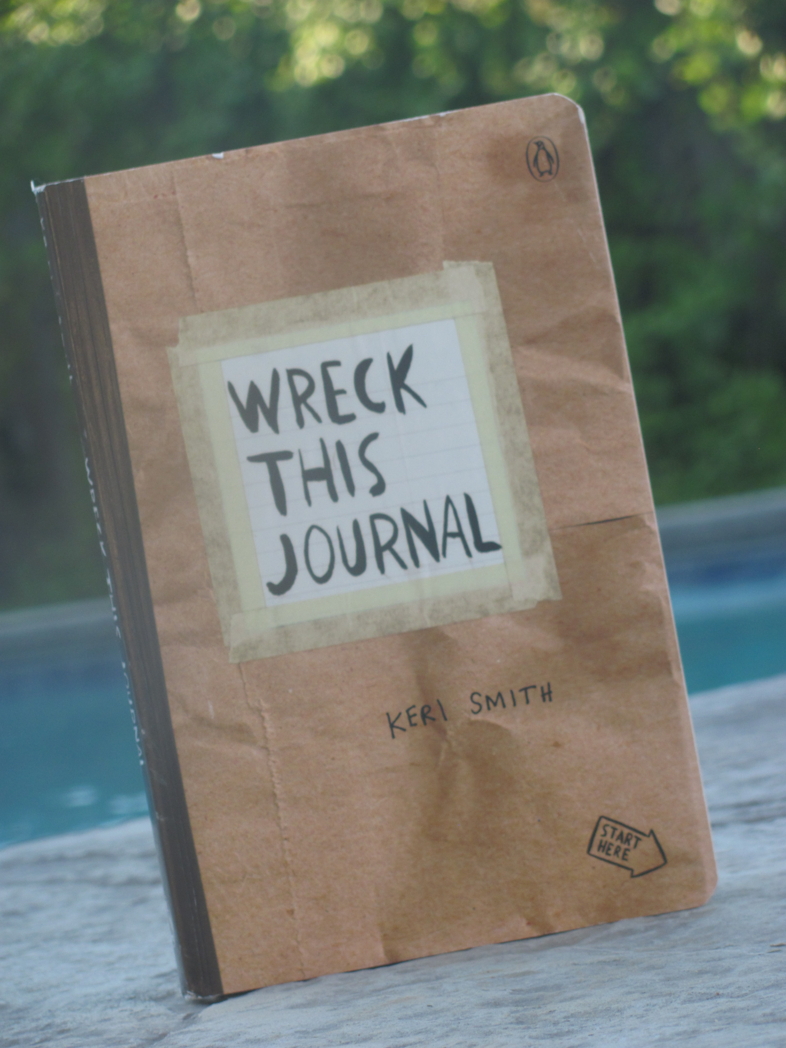 Wreck This Journal Giveaway Reminder